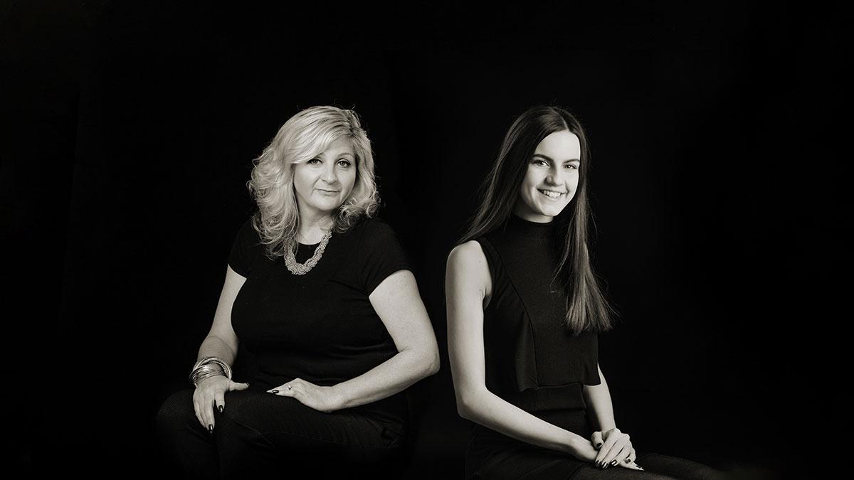 Melanie and Beth