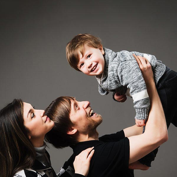 Family portrait studio essex